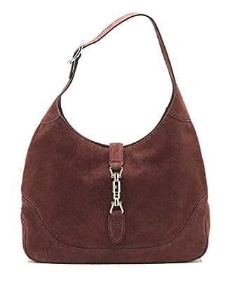 49f8efd32f Gucci New Jackie scamosciata borsa a tracolla 277520, rosso: Amazon ...