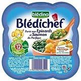 Bledichef purée aux épinards et saumon 230g dès 12 mois