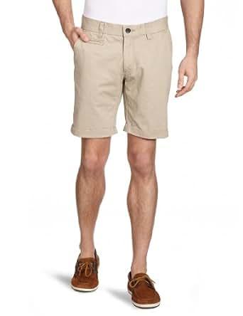 SELECTED Herren Short 16026222 Three Paris sand chino shorts, Beige (Sand), XS