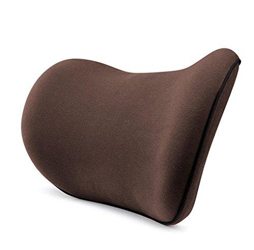 Stil-massage-stuhl (GxNI Auto Reise Kissen Kopf Kinn und Nacken Unterstützung Kissen Rest, Mudder Memory Foam Neck Kissen für Auto Komfort Klauen-Stil mit maschinenwaschbare Abdeckung Beige, schwarz, braun, grau, rot , Brown)