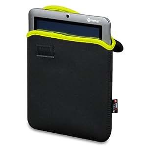 """Memup Case Neo SP8 Housse en néoprène pour tablette 8"""" Slidepad 800 Series Noir/Vert"""