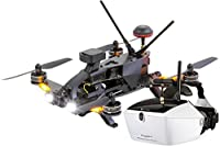 Walkera 15004650 Runner 250 Pro Racing Quadcopter RTF – HD Camera Goggle V4 Video Glasses FPV Drone, GPS, OSD, Battery, Charger and Devo 7 Transmitter by XciteRC