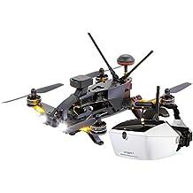 Walkera 15004650 - Runner 250 Pro Racing-Quadrocopter RTF - FPV-Drohne mit HD Kamera, Goggle V4 Videobrille, GPS, OSD, Akku, Ladegerät und Devo 7 Fernsteuerung