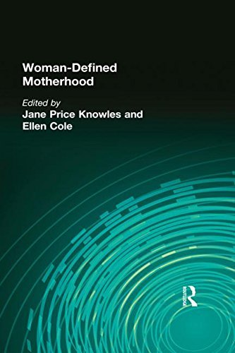 Woman-Defined Motherhood (Woman & Therapy Series: Nos. 1-2) by Jane Price Knowles (1990-10-11)