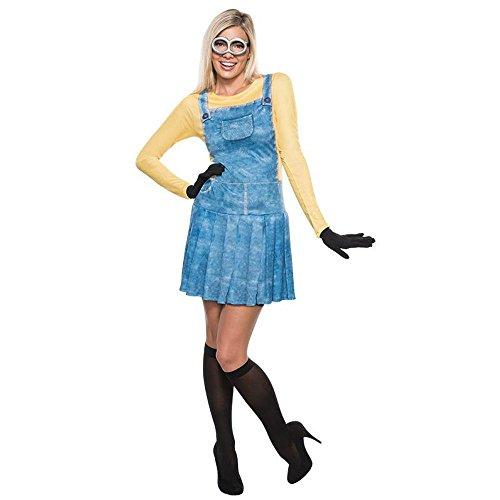 Rubie's Minions Damen Kostüm Minion Mädchen Karneval Fasching -