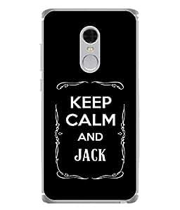 FUSON Designer Back Case Cover for Xiaomi Redmi Note 4 (2017 Edition) (Friends Jack Jackdaniel Drinks Whiskey Jack Daniel Quotes)