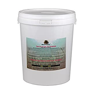 Multi-Mite® 10KG Bucket Feed Grade DE – DIATOMACEOUS EARTH – Red Mite & Worming Powder 41hLClzXnOL