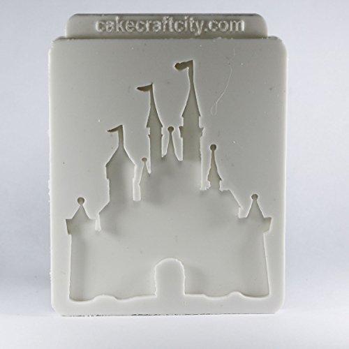 Princess Castle Zuckerguss Kuchen oder Cupcake Dekoration Silikonform