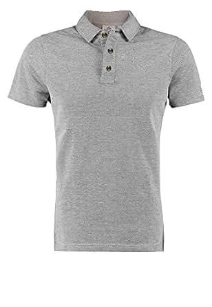Cotton Oxford - Polo en coton Oxford hommes Rugby S M L XL XXL 100% neuf qualité coton naturel - gris, Small