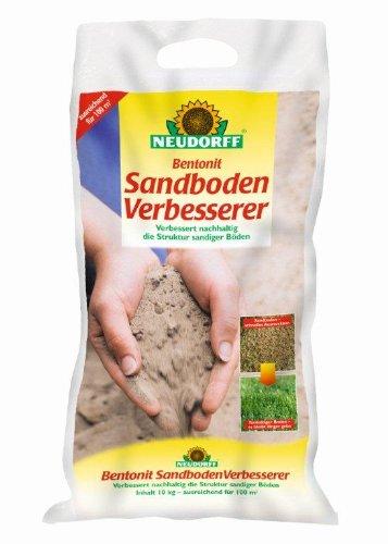Neudorff Bentonit Sandboden Verbesserer 25 kg - Sorgen Für Eine Hohe Calcium