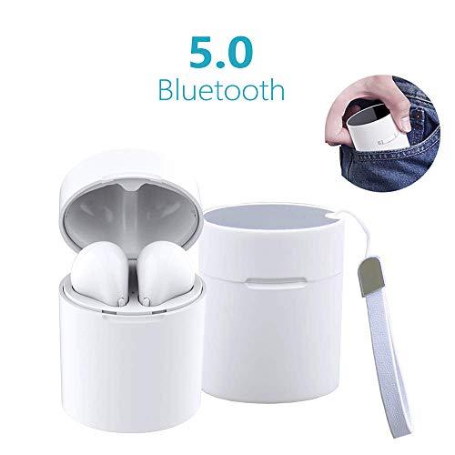 Cuffie Bluetooth 5.0, Mini Auricolari Senza Fili Auricolare Bluetooth stereo X10 Sportivo Cordless con scatola di ricarica Portatile per Huawei LG Mi Nokia Samsung Galaxy iPhone
