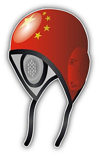 China Flag Water Polo Cap Auto-Dekor-Vinylaufkleber 8 X 12 cm China Dekor
