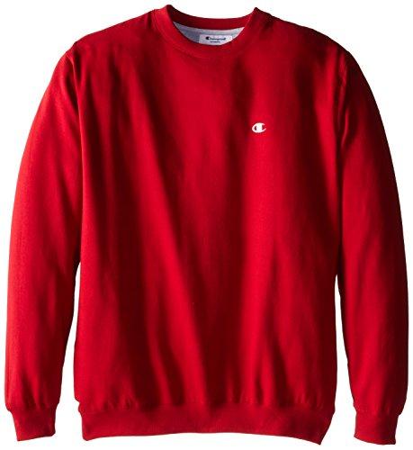 Champion Crew Sweatshirt (Champion Herren Big-Tall Fleece Crew Sweatshirt - Rot - 3X/Hoch)