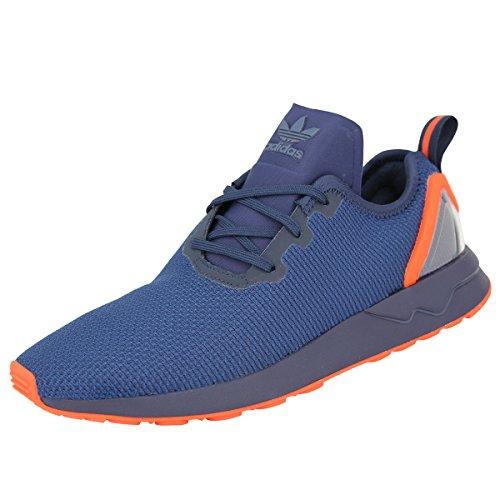 adidas Originals ZX FLUX ADV ASYMETRICAL Blau Orange Herren Sneakers Schuhe Neu