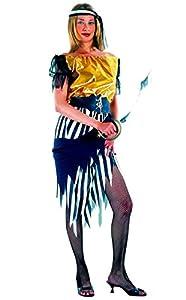 FIORI PAOLO-Piratessa disfraz mujer adulto Womens, rojo, talla 40-42, 62053