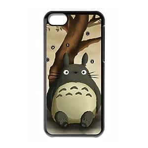 iPhone 5c Case Covers Black My Neighbor Totoro V6FE