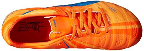 Puma Evopower 3 H2H Fg Jr Scarpe da calcio Orange Clown Fish/Electric Blue Lemonade