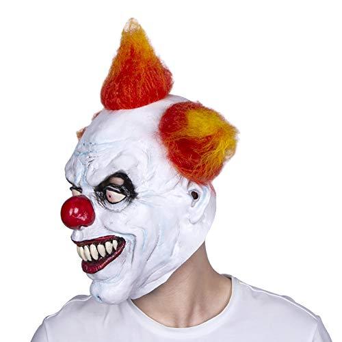 Clown-Maske geeignet für Maskerade Parteien, Kostüm-Partys, Karneval, Weihnachten, Ostern, Halloween, Bühnenauftritte, Handwerk Dekorationen (Parteien Gruselige Die Halloween-spiele,)
