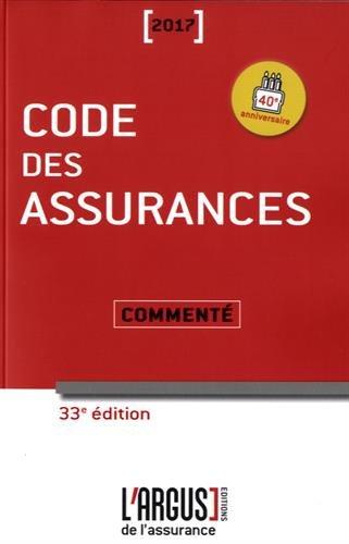 Code des assurances comment