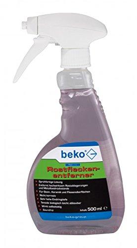 BEKO TecLine Rostfleckenentferner Sprühflasche 500 ml, 1 Stück, 299150500
