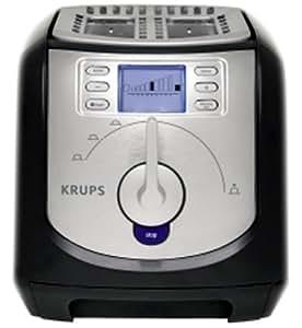 Krups FEM3 Krups FEM3 grille-pain acier inoxydable brossé