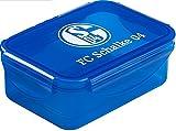 Brotdose FC Schalke 04 + gratis Sticker'Gelsenkirchen forever', Lunchbox / panier-repas / fiambrera S04