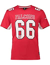 Majestic Athletic Atlanta Falcons NFL Moro Poly Mesh Jersey tee T-Shirt  Trikot 8dcc291a280