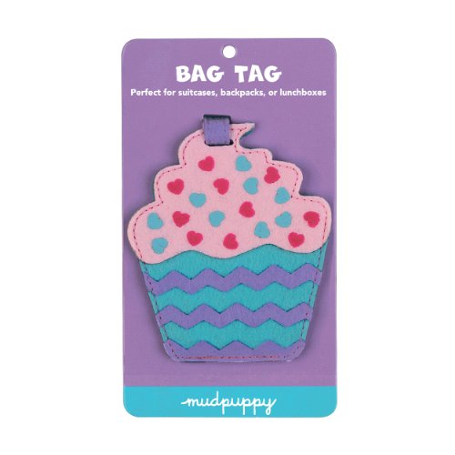 Cupcake Bag Tag: Perfect for Suitcases, Backpacks, or Lunchboxes