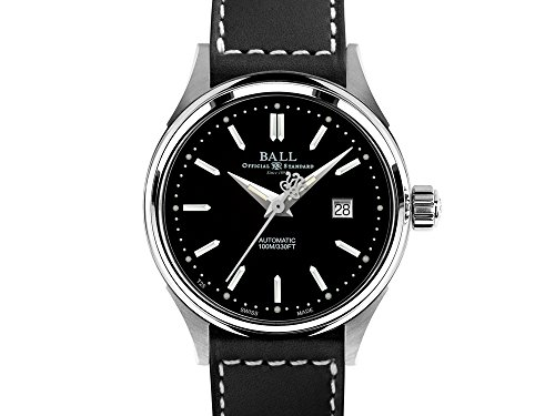Ball Fireman Classic Ladies Automatic Watch, Stainless steel, NL2098C-LJ-BK