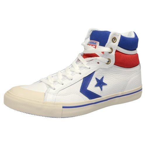 Converse  Pro Blaz Lea Hi,  Sneaker uomo Bianco (weiß / blau / rot)