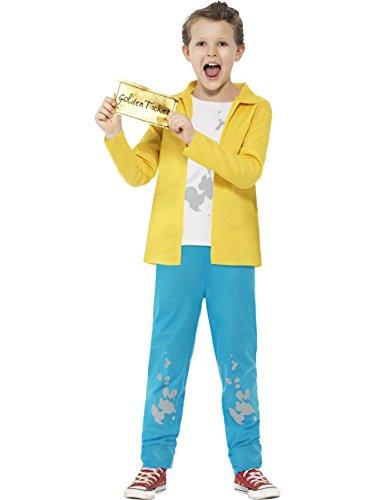 Smiffy's Offiziell Roald Dahl Charakter Maskenkostüm - Charlie Bucket, L