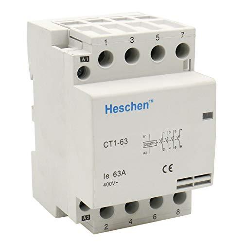 Heschen CT1-63 - Contactor aire acondicionado hogar