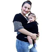 Echarpe de Portage pour Nouveau-Nés, Nourrissons et Tout-Petits Coton Doux  Premium 4dee0891f46