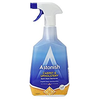 Astonish Shampoo For Carpets & Upholstery 750ml Cleans, Disinfects & Deodorises