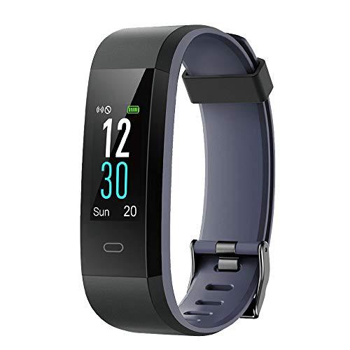 d mit Pulsuhr,Wasserdicht IP68 Schrittzähler Fitness Uhr Farbbildschirm Fitness Tracker Pulsmesser Smartwatch Aktivitätstracker Sportuhr für Damen Herren für iOS Android Handy ()