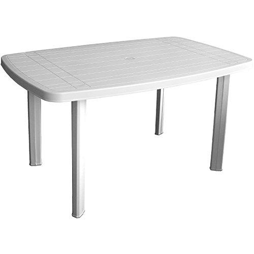 Einfaches Set 6+1 Kunststoff in Weiß - 4