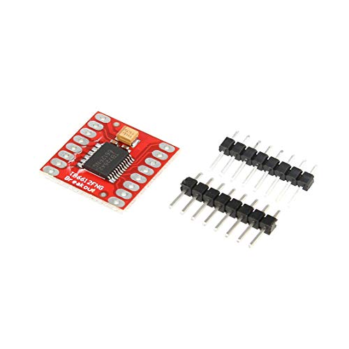 TB6612FNG Doppel-DC-Schrittmotorsteuerungsantrieb Expansion Shield Board-Modul für Arduino Mikrocontroller Besser als L298N Peak Power Supply