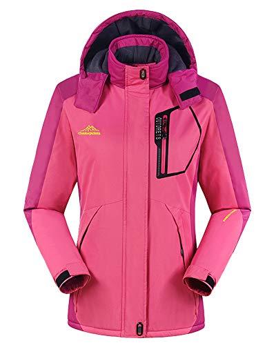 65100b58961a7 Chaqueta para Hombre Abrigo Impermeable para Deportes Esquí Invierno  Chaqueta de Nieve a Prueba Viento con
