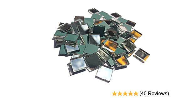200 pcs. Aleksander Hreben 3//8 square mirror mosaic tile