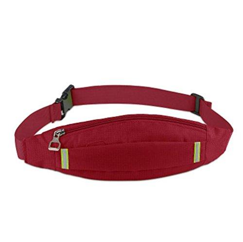 OOFWY Fanny Pack Sport Läufer Taille Pack mit 2 Taschen Bum Tasche für Männer und Frauen 15
