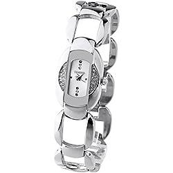 Time100 Fashion Luxury Elegant Diamond Hollow Out Jewerly Bracelet Ladies Watches #W50152L.01A