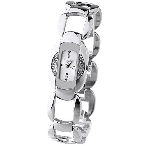 Time100 Lusso elegante orologio da polso con diamanti, donna-W50152L.01A