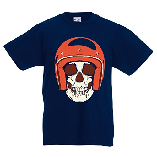 funny-t-shirts-for-kids-moto-skull-12-13-years-dark-blue-multi-color