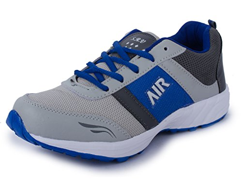 TRASE SRV Air Grey/Royal Blue Kids/Boys Sports Running Shoes-5C IND/UK