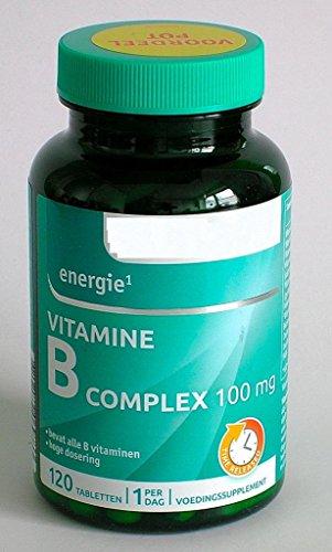 VITAMIN B-Complex 100 mg 120 Tabletten PREMIUMQUALITÄT -