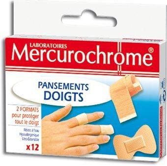 Mercurochrome - Parapharmacie - Parapharmacie - protéger - BOITE 12 PANSEMENTS DOIGTS Mercurochrome
