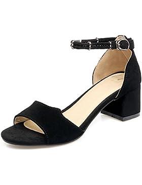 En verano las sandalias con densamente con la palabra cabeza de pescado zapatos de la hebilla damas sandalias...