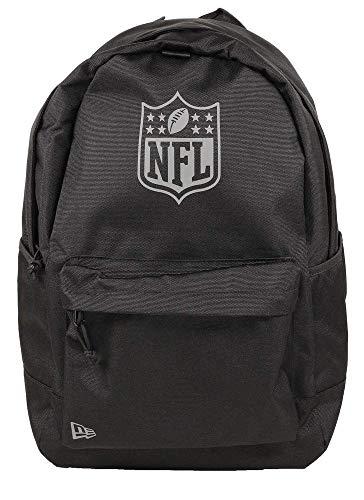 A NEW ERA Unisex-Erwachsene NFL Light Pack Nflgen Blkgrh Rucksack, schwarz, Einheitsgröße