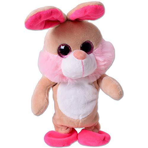 TE Trend BG61268 Labertier Hase Rabbit Plappertier Sprechendes Plüschtier 20cm Mehrfarbig