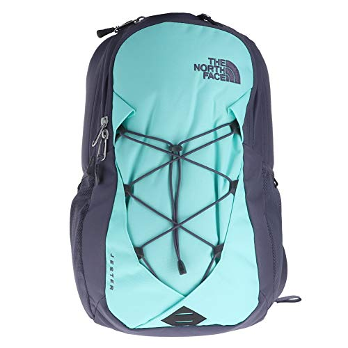 The north face women's jester backpack - mint blue & greystone blue - os